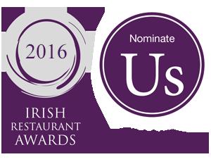 Irish Restaurant Awards Whitford House Hotel